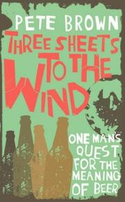 Cover of: Three Sheets to the Wind
