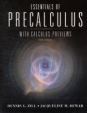 Cover of: Essentials Of Precalculus With Calculus Previews