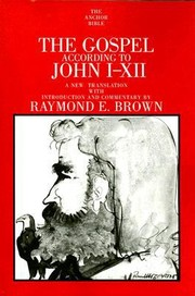 Cover of: The Gospel According To John Ixii Introduction Translation And Notes