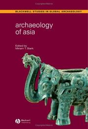 Cover of: Archaeology of Asia | Miriam T. Stark