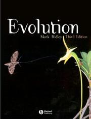 Cover of: Evolution | Mark Ridley