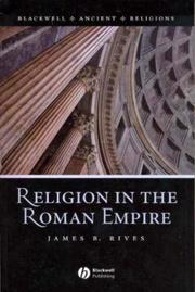 Cover of: Religion in the Roman Empire