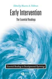 Cover of: Early Intervention