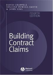 Cover of: Building contract claims