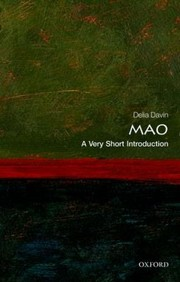 Cover of: Mao A Very Short Introduction
