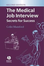 Cover of: The Medical Job Interview | Colin Mumford