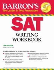Cover of: Barrons Sat Writing Workbook