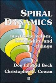 Cover of: Spiral dynamics |