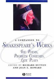 Cover of: A Companion to Shakespeare