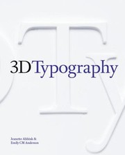 Cover of: 3d Typography