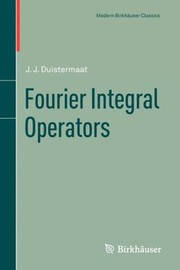 Cover of: Fourier Integral Operators