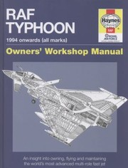 Cover of: Raf Typhoon Manual 1994 Onwards All Marks