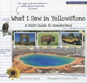 Cover of: What I Saw In Yellowstone