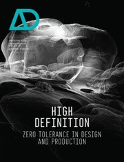 Cover of: High Definition Zero Tolerance In Design And Production