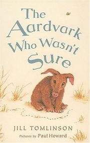 Cover of: The Aardvark Who Wasn