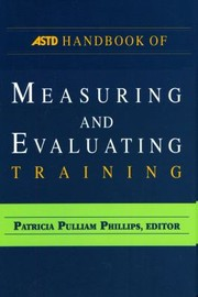 Cover of: Astd Handbook Of Measuring And Evaluating Training