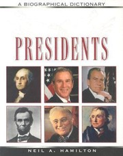 Cover of: Presidents Biographical Dictionary