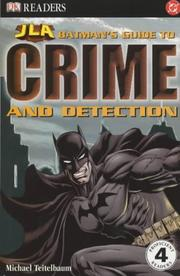 Cover of: Batman's Guide to Crime and Detection (Justice League of America Reader)