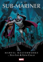 Cover of: Marvel Masterworks Presents Prince Namor The Submariner
