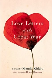 Cover of: Love Letters Of The Great War