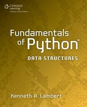 Cover of: Fundamentals Of Python Data Structures