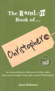 Cover of: The Random Book Of Christopher Well I Didnt Know That