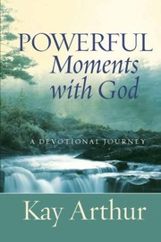 Cover of: Powerful Moments With God