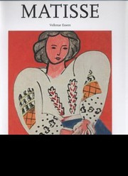 Cover of: Henri Matisse 18691954 Master Of Colour