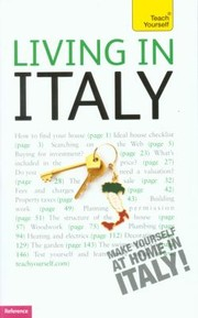 Cover of: Living In Italy