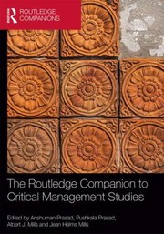 Cover of: The Routledge Companion To Critical Management Studies