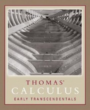 Cover of: Thomas Calculus Early Transcendentals Single Variable Chapters 111