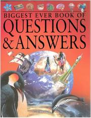 Cover of: Biggest Ever Book of Questions & Answers (Children's Reference)