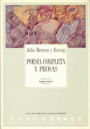 Cover of: Poesa Completa Y Prosas