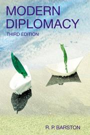 Cover of: Modern Diplomacy (3rd Edition) | R. Barston