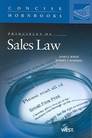 Cover of: Principles Of Sales Law
