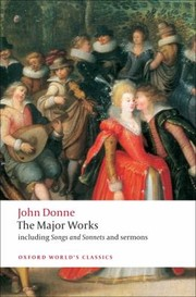 Cover of: John Donne The Major Works