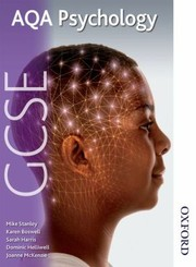 Aqa Gcse Psychology Students Book by Mike Stanley