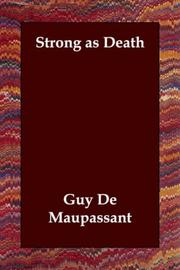 Cover of: Strong as Death