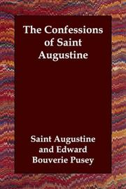 Cover of: The Confessions of Saint Augustine