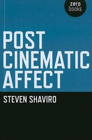 Cover of: Post Cinematic Affect