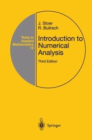 Cover of: Introduction To Numerical Analysis