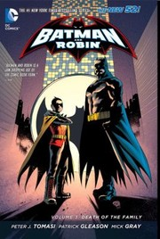 Cover of: Batman Robin 3 Death Of The Family The New 52
