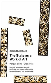 Cover of: The State As A Work Of Art