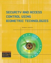 Cover of: Biometrics Application Technology Management