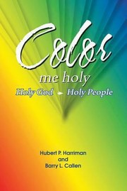 Cover of: Color Me Holy Holy God Holy People