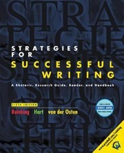 Cover of: Strategies For Successful Writing A Rhetoric Research Guide Reader And Handbook