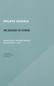 Cover of: The Ecology Of Others