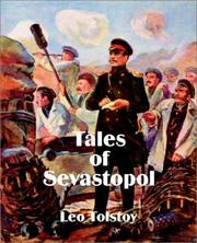Cover of: Tales of Sevastopol | Tolstoy