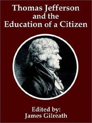 Cover of: Thomas Jefferson and the Education of a Citizen