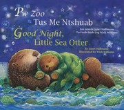 Cover of: Pw Zoo Tus Me Ntshuab Good Night Little Sea Otter